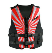 All Purpose Character, Red - Lightweight Neoprene, EPE foam; Youth Life Vest