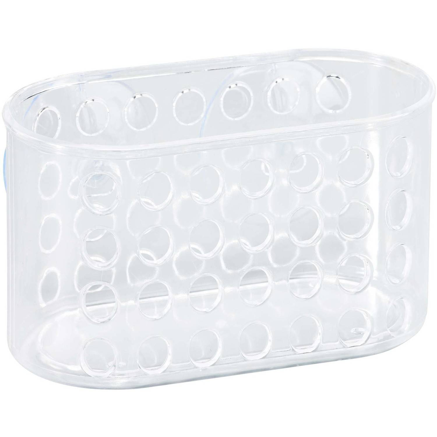 Bath Bliss Clear Suction Bathroom Organizer by Kennedy International, INC.