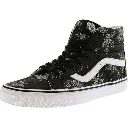 7fb45cf94ff3 Vans - Vans Men s Sk8-Hi Reissue Van Doren Skull Snowflake   Black  Ankle-High Canvas Skateboarding Shoe - 13M - Walmart.com