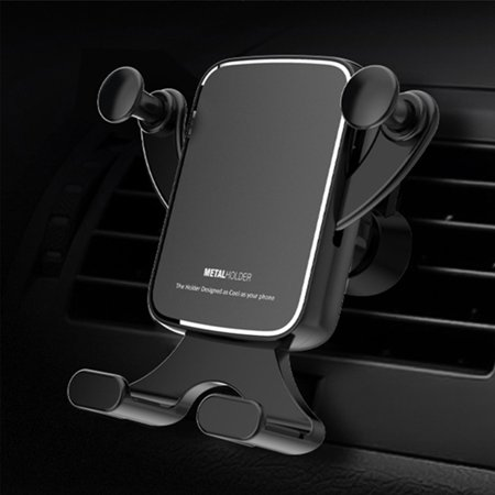 Universal Air Vent Car Phone Mount Holder, EEEKit 2019 Updated Version Car Vent Phone Holder Mount Cradle Fit for iPhone 11 Pro Max XR 8P Galaxy S10 S10E S9 S8 Note 10 9 8 GPS & Any