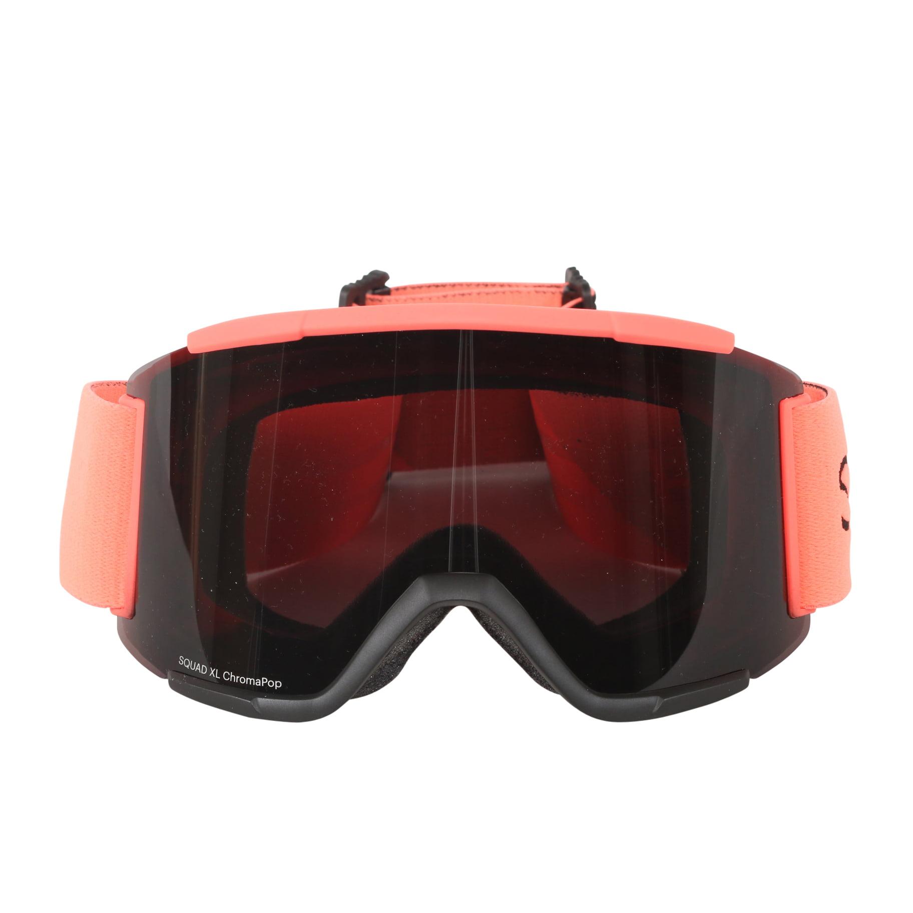 Smith Optics Sunburst Split ChromaPop Sun Squad XL Interchangeable Snow Goggles by Smith Optics