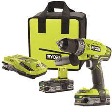 Ryobi One+ 18-Volt Hammer Drill Kit by Ryobi