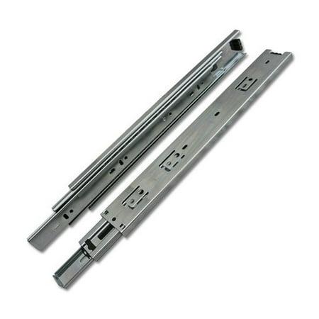 12-inch Length Heavy duty Drawer Slide Full Extension Ball Bearing 100 LB per Pair Heavy Duty Full Extension Drawer Slides