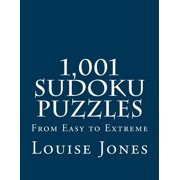 1,001 Sudoku Puzzles : From Easy to Extreme