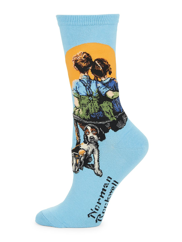 Norman Rockwell Socks