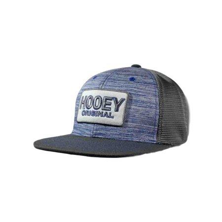 d7cc4ffc757b4c HOOey - HOOey Hat Mens Hooey Original Snapback O/S Gray Blue 1737T -  Walmart.com