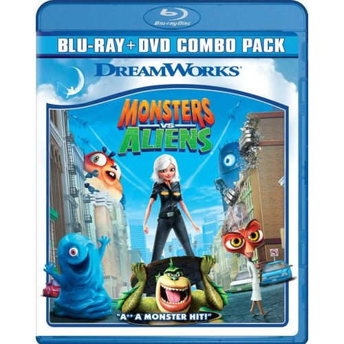Monsters Vs. Aliens (Blu-ray   Standard DVD) (Widescreen)