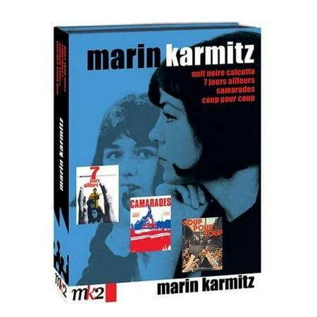 Marin Karmitz 4 film Collection ( Sept jours ailleurs / Nuit noire, Calcutta / Camarades / Coup pour coup ) ( Seven Days Somewhere Else / Comrades / Blow [ NON-USA FORMAT, PAL, Reg.2 Import - France ]