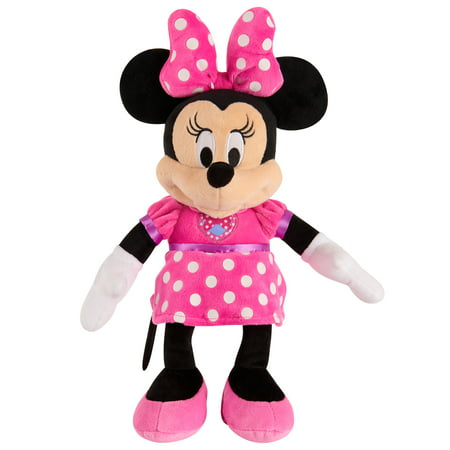 Mickey Mouse Clubhouse Fun Minnie Mouse Plush - Minnie And Mickey Mouse Halloween Coloring Pages