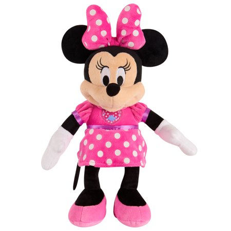 Minnie Mouse Plush - Mickey Mouse Clubhouse Clubhouse Fun Minnie Mouse Plush
