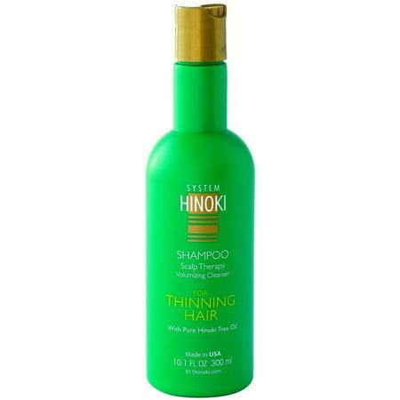 Hayashi System Hinoki Thinning Hair Scalp Therapy Shampoo, 10 1 Fl Oz