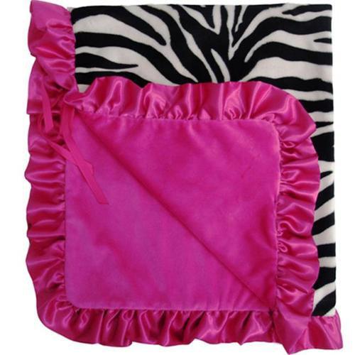 Baby Bella Maya BLST001Z Stroller Blanket Zoe Zebra
