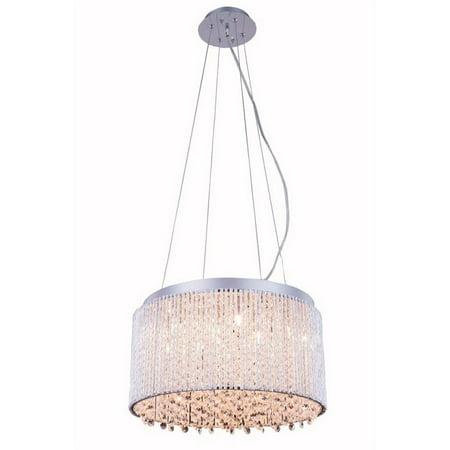 """Elegant Lighting Influx 16"""" 10 Light Royal Crystal Chandelier - image 1 of 1"""