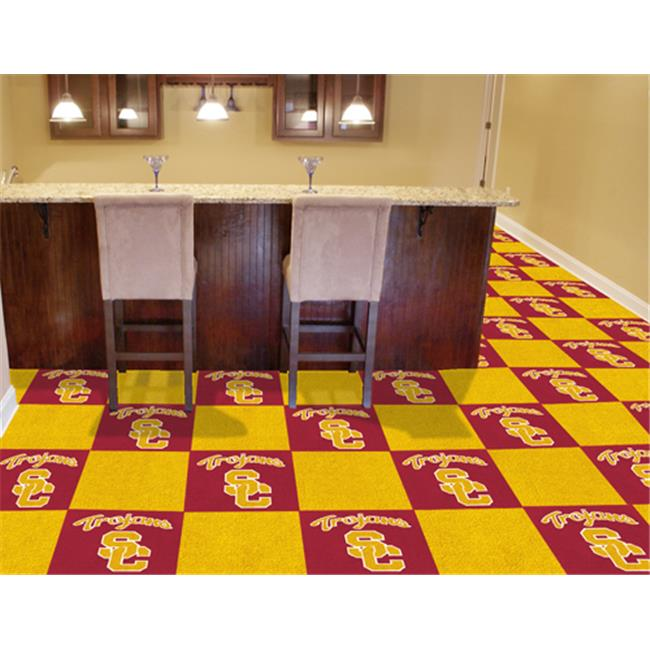 FANMATS 8516 Southern California Carpet Tiles 18 in. x 18 in. tiles