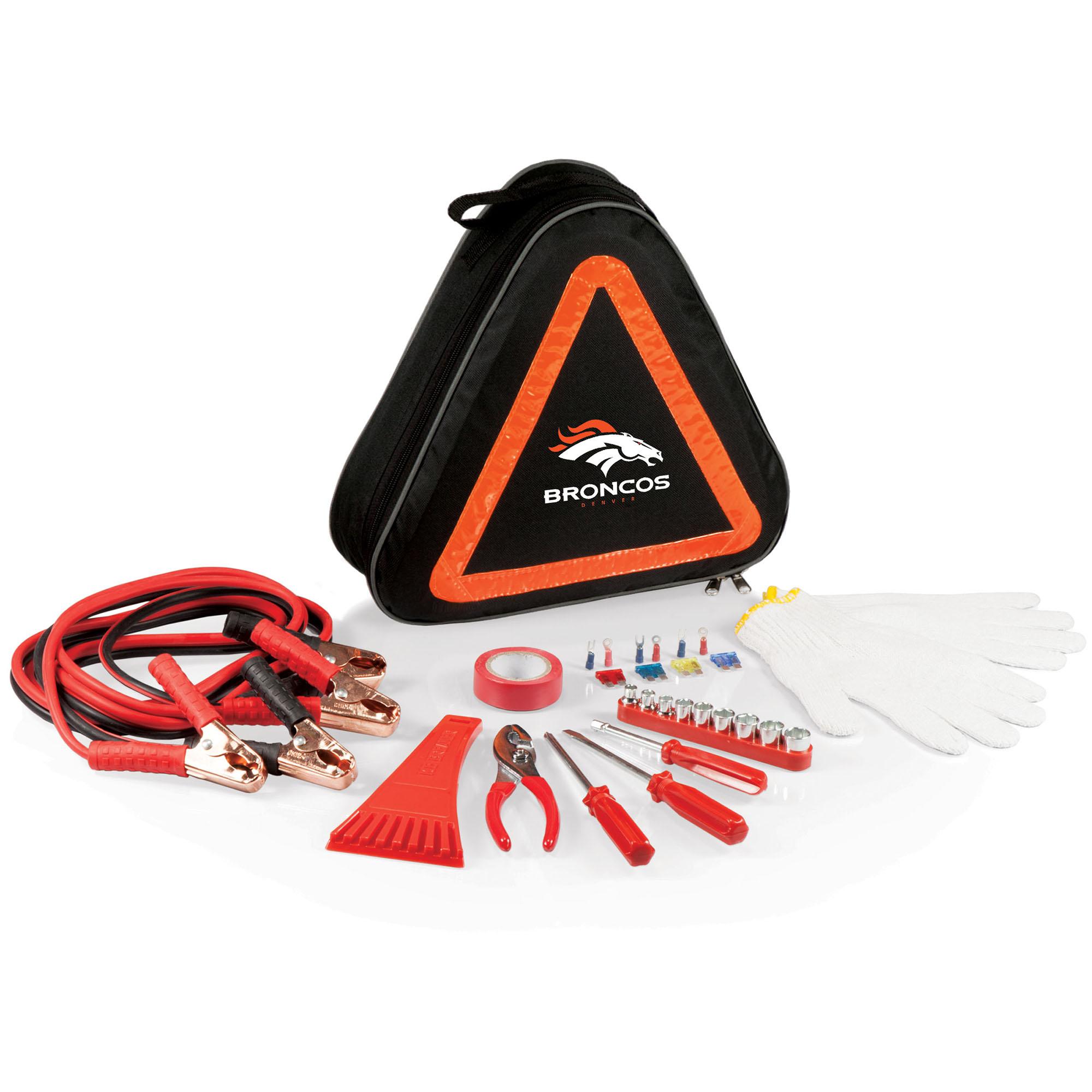 Denver Broncos Roadside Emergency Kit - No Size