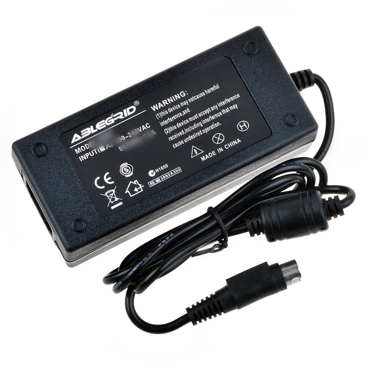 ABLEGRID AC / DC Adapter For Skyworth SLC-1551A SLC-1551AW SLC-1551W SLC-1551AM 15 LCD Television TV Monitor DVD Player Combo Power Supply Cord Cable PS Charger Mains PSU