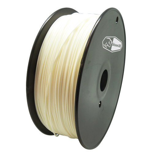 bison3D Filament for 3D Printing, 3mm, 1kg/roll, Nature (ABS)