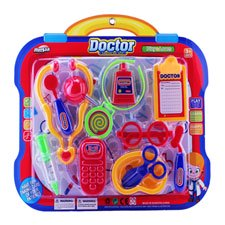 New 503321  Boy Doctor Set On Card (12-Pack) Action Cheap Wholesale Discount Bulk Toys Action Laundry Accessories](Toys Wholesale)