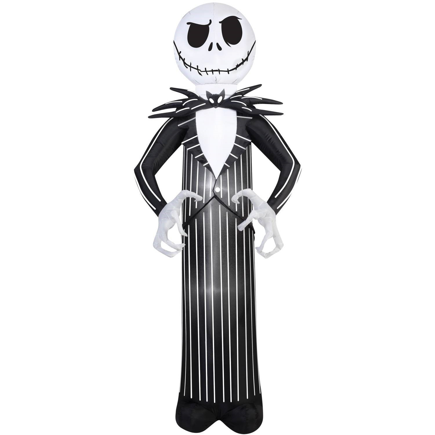 Nightmare Before Christmas Jack Airblown Halloween Decoration Walmart Com Walmart Com