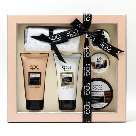 Pampering Set - Rainbow Cosmetics Style and Grace Spa Bath and Body Pamper Time Gift Set