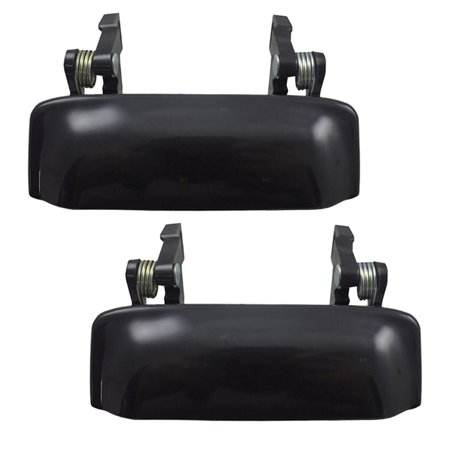 - BROCK Outside Exterior Door Handles Pair Set Front Replacements for 1993-2011 Ford Ranger & 1994-2010 Mazda Pickup Truck 6L5Z1022404CAPTM