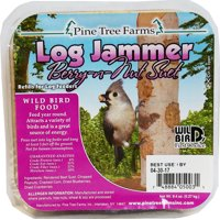 Pine Tree Farms Inc-Log Jammers Suet Plugs- Fruit 9.4ounce/3 Pack