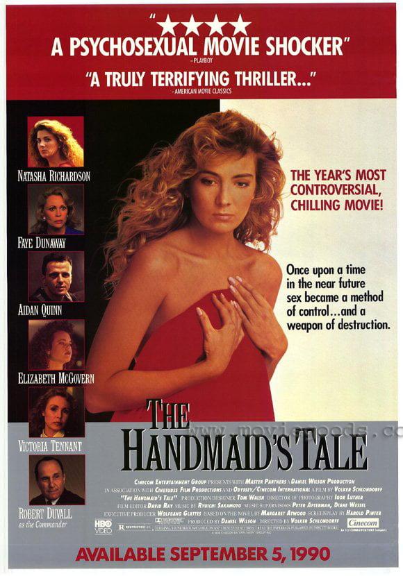 "The Handmaid's Tale - movie POSTER (Style A) (11"" x 17"") (1990) - Walmart.com - Walmart.com"