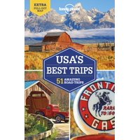 Travel guide: lonely planet usa's best trips - paperback: 9781786573599