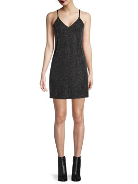 Say What? Juniors' Lurex Tank Dress