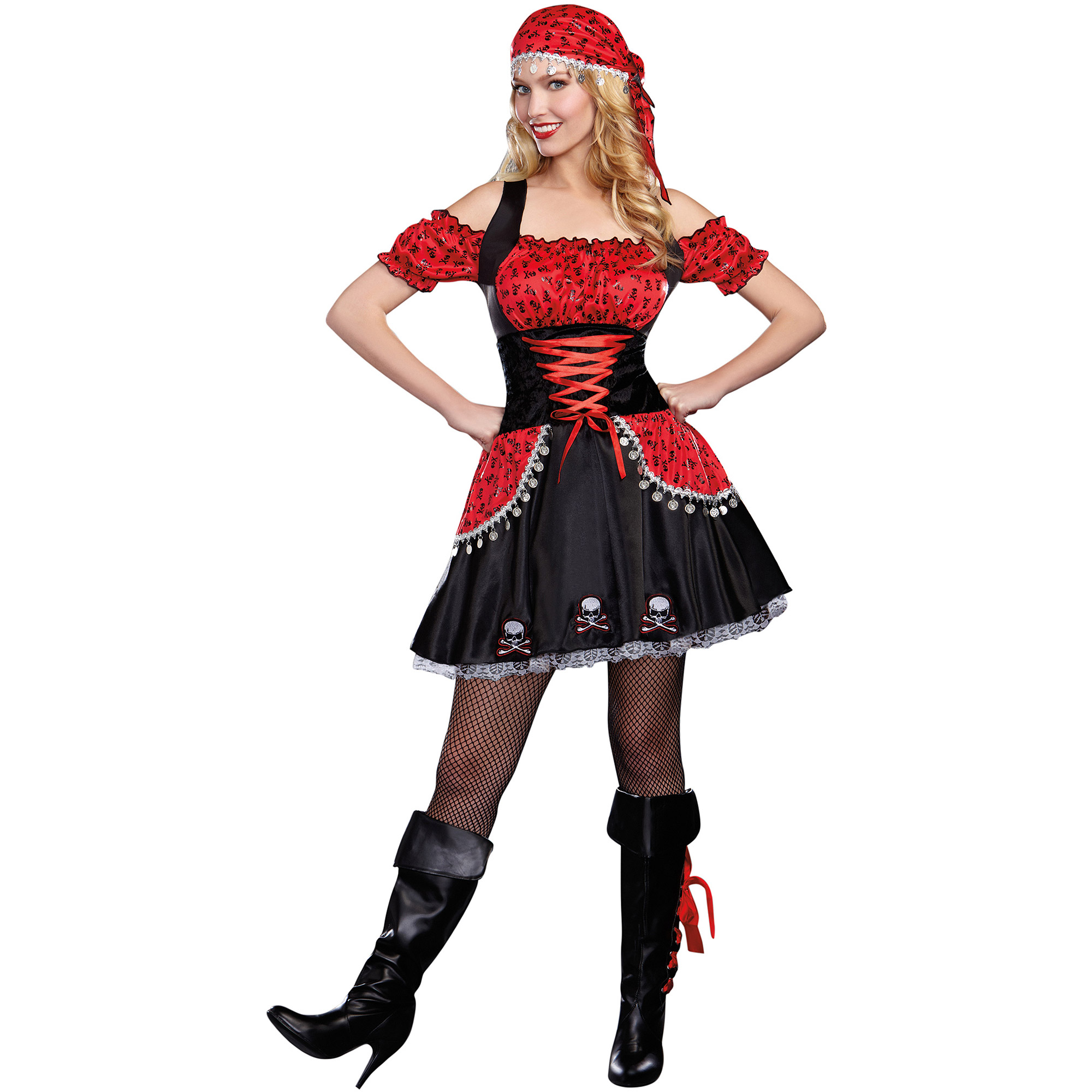 pirate beauty womens adult halloween costume walmartcom