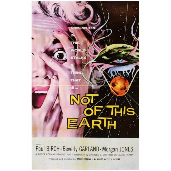 Posterazzi MOVAH3603 Not of This Earth Movie Poster - 27 x 40 in. - image 1 of 1