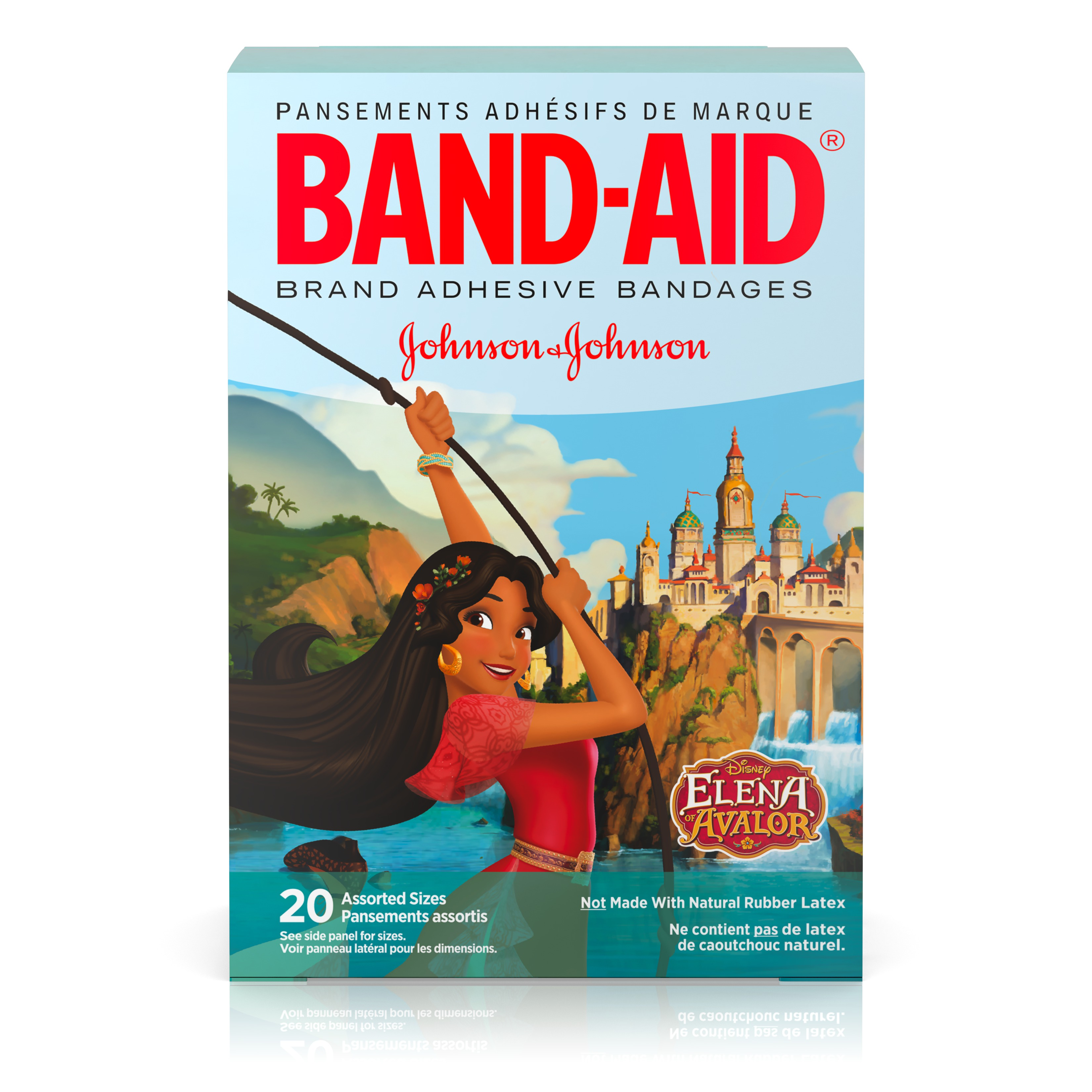 Band-Aid Bandage Disney Junior Elena of Avalor Assorted, 20 ct