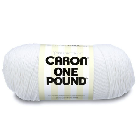 Caron One Pound Yarn, White