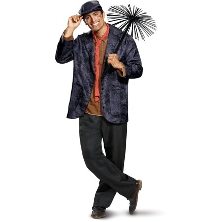 Mens Deluxe Disney Mary Poppins Bert Chimney Sweep - Mary Poppins Halloween Outfit