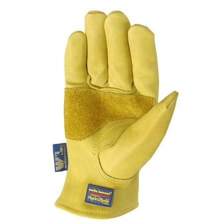Top Grain Cowhide Gloves (HydraHyde Mens Saddletan Grain Cowhide Glove M )