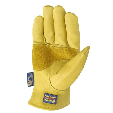 Large Mens Cowhide Glove (HydraHyde Mens Saddletan Grain Cowhide Glove M )