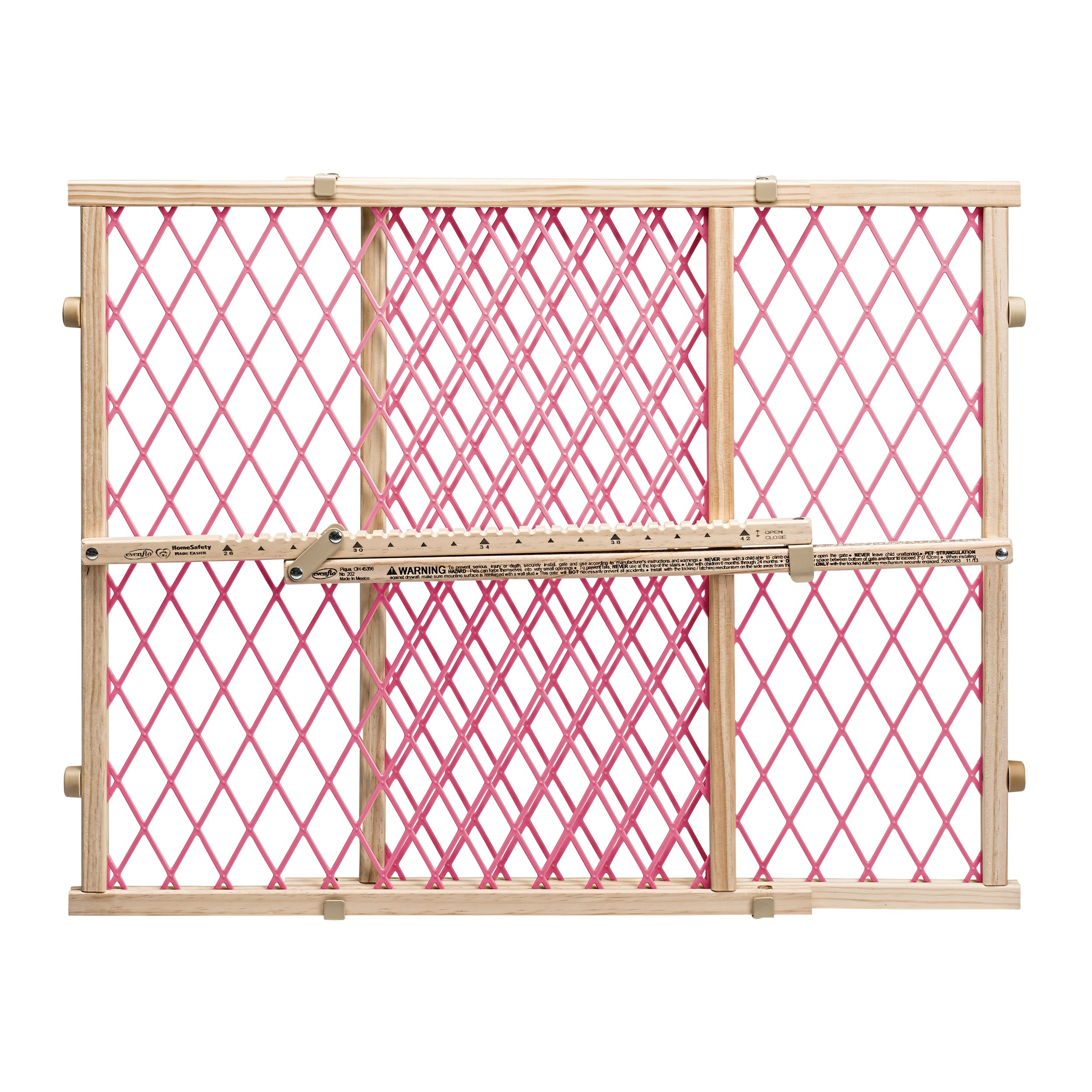 Evenflo Position Lock Classic Pressure Mount Gate 26 42 Fence For Transitional Putting Up Electric