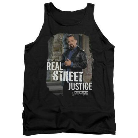 Law & Order Svu Crime Legal Drama TV Series Street Justice Adult Tank Top Shirt