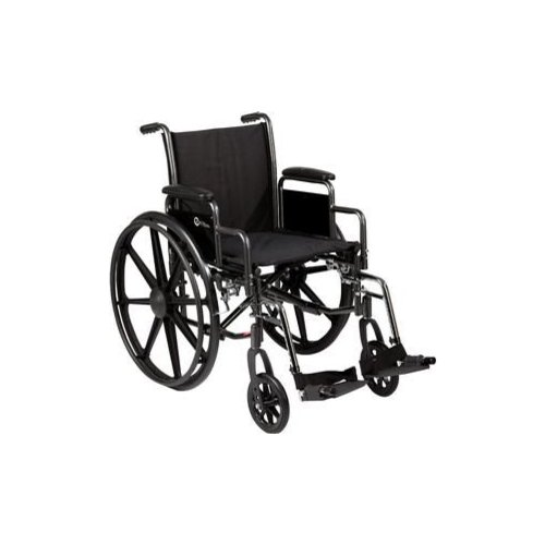 K3-Lite Wheelchair with Removable Desk-Length Arms