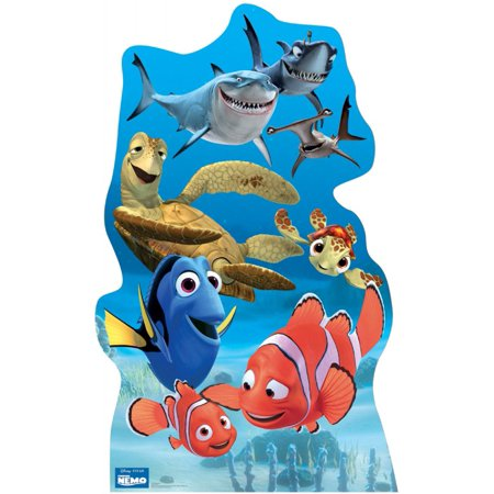 Finding Nemo Group Cardboard Standup (Each) - Party Supplies - Finding Nemo Party Supplies Walmart