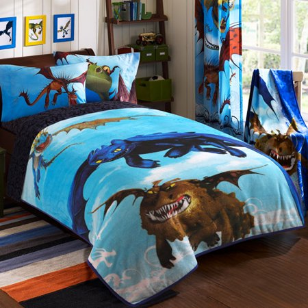 How To Train Your Dragon Juvenile Bedding Blanket
