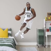 Fathead Khris Middleton - Life-Size Officially Licensed NBA Removable Wall Decal
