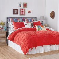 The Pioneer Woman Country Chenille Duvet Set, King White