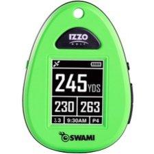 Izzo SWAMI Golf GPS Navigator - Neon Green - Portable - 1.8