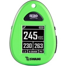 "Izzo SWAMI Golf GPS Navigator - Neon Green - Portable - 1.8"" - USB - Preloaded Maps"