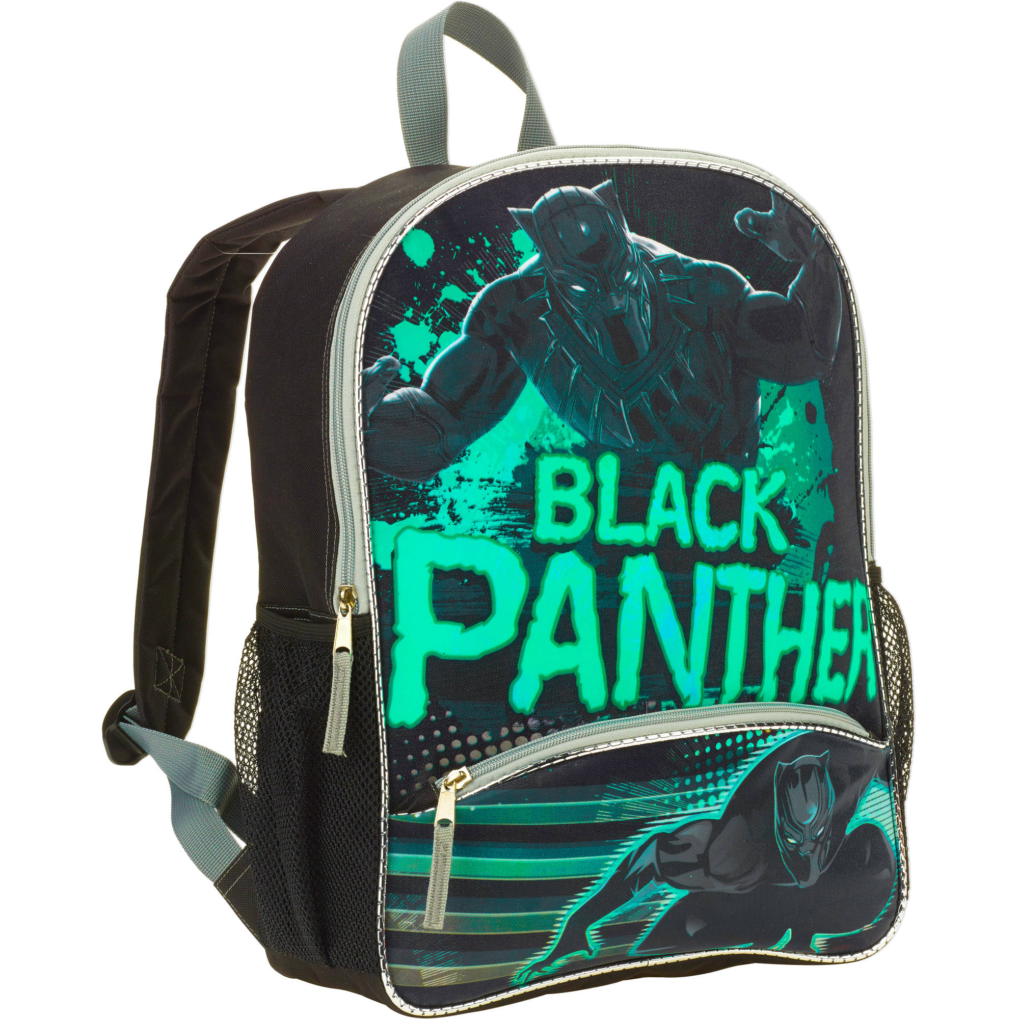 "16"" Marvel Captain America: Civil War Black Panther Full Size Backpack"