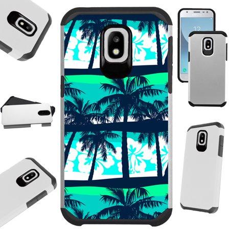 - Fusion Guard Phone Case Cover For Samsung Galaxy J3 (2018) | J3 Orbit | J3 Achieve | Express Prime 3 (Palm Tree)