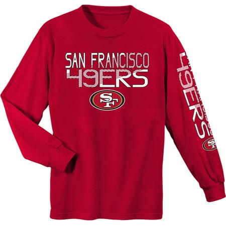 innovative design 82761 88555 NFL San Francisco 49ers Youth Long Sleeve Cotton Tee