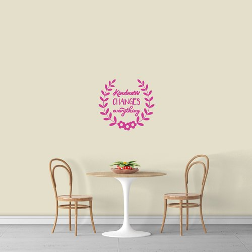 Winston Porter Kindness Changes Everything Wall Decal