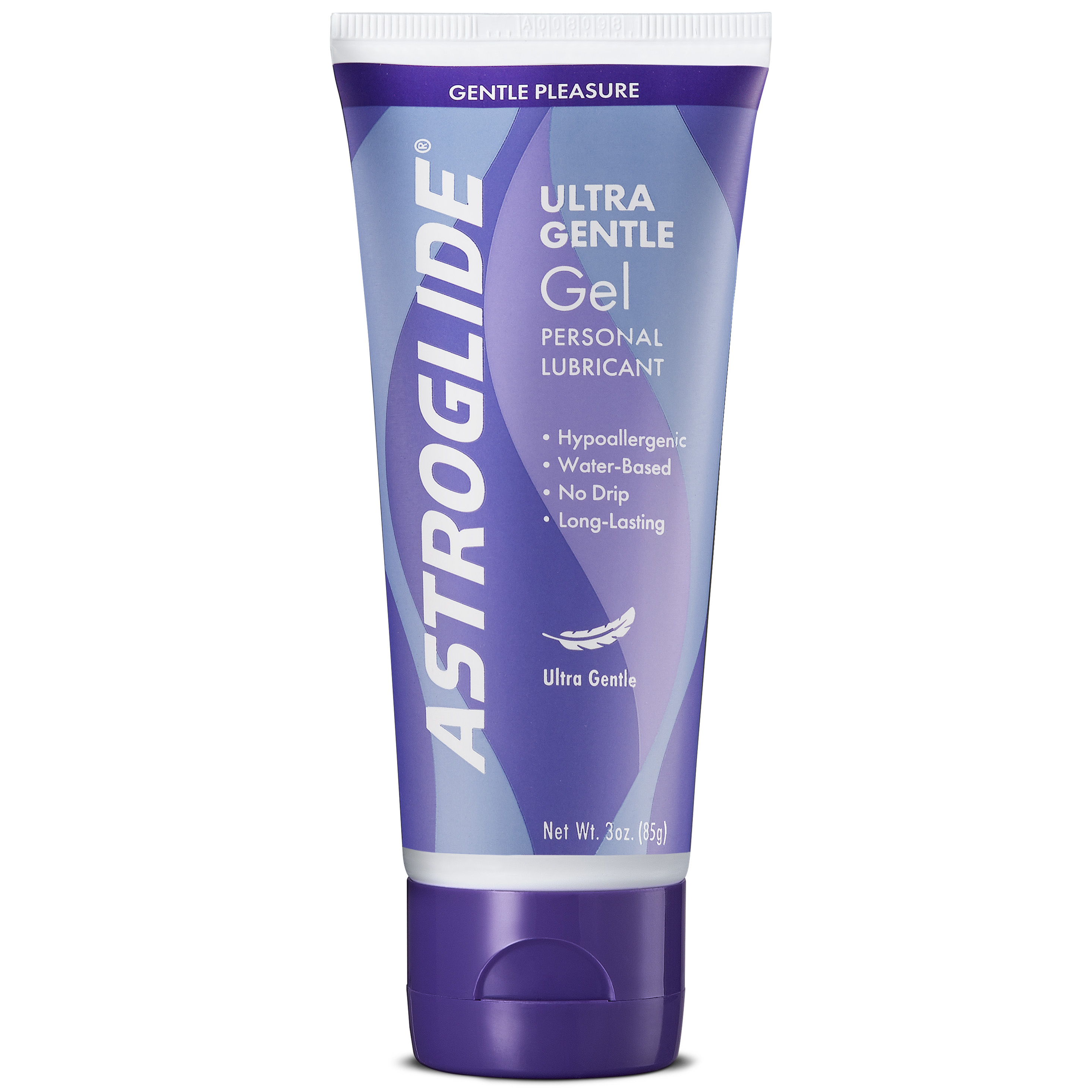 (2 pack) Astroglide Ultra Gentle Personal Water Based Lubricant Gel - 3 oz